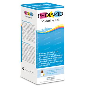 Pediakid Vitamine D3 20 ml solution