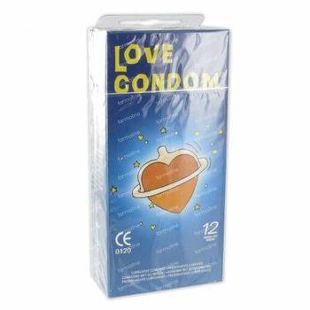 Préservatifs Amour Standard 12 pièces