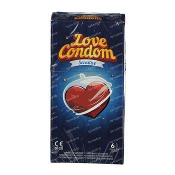 Préservatifs Amour Standard 6 st
