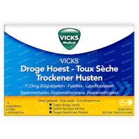 Vicks Vapotabs Anti -Tussif 12  tabletten