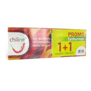 Chiline Vetverbranding 1+1 Gratis 120 stuks Tabletten