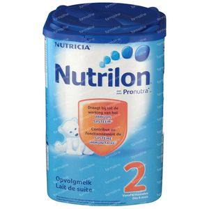 Nutrilon 2 Opvolgmelk + Pronutra 800 g