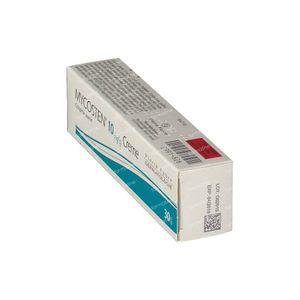 Mycosten 10mg/g 30 g crème