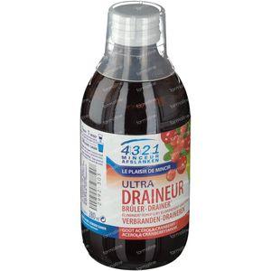 4321 Slimming Draineur Acerola-Cranberry 280 ml