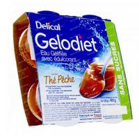 Delical Gelodiet Gelwater Zoetstof Thee Perzik 480 g