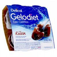 Delical Gelodiet Gelwater Gesuikerd Druif 480 g
