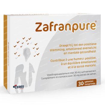 ZafranPure - Humeur Positive, Équilibre Émotionnel et Énergie Mentale 30 comprimés