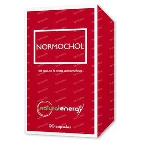 Natural Energy Normochol 600Mg 90 stuks Capsules