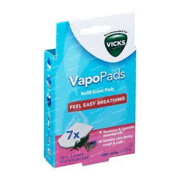 Vicks Pediatric Comforting VapoPads Rozemarijn & Lavendel 7 stuks