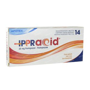 Ippracid Apotex 20mg 14 tabletten