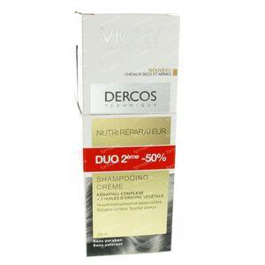 Vichy Dercos Shampooing Nourrissant & Restauration DUO 2x200 ml