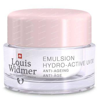 Louis Widmer Emulsie Hydro-Active SPF30 Zonder Parfum 50 ml