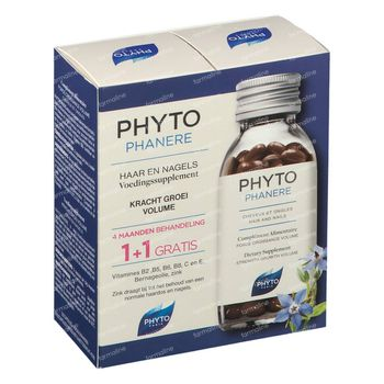Phyto Phytophanère Action Antichute & Fortifiante DUO 2x120 capsules