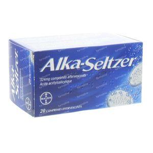 Alka Seltzer 324 mg 20 bruistabletten