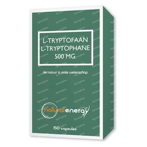 Natural Energy L-Tryptofaan 500Mg 60 cápsulas