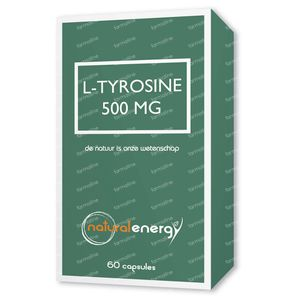 Natural Energy L-Tyrosine 500Mg 60 St Capsules