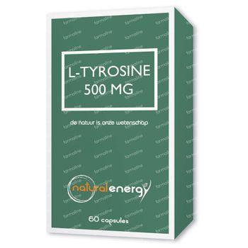 Natural Energy L-Tyrosine 500Mg 60 capsules