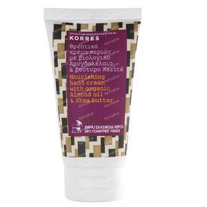 Korres Crème Mains Amande & Beurre De Karité 75 ml