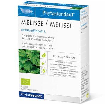 Phytostandard Melissa 20 kapseln