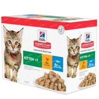 Hill's Science Plan Feline Kitten Classic 12x85 g