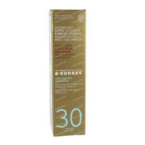 Korres Red Grape Sunscreen SPF30 50 ml