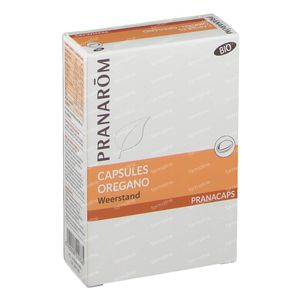 Pranarom Oregano Bio 2x15 Caps nf 30 kapseln