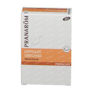 Pranarom Oregano Bio 2x15 Caps nf 30 capsules