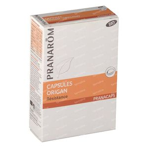 Pranarom Oregano Bio 2x15 Caps nf 30 St capsules
