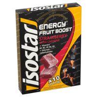 Isostar High Energy Fruit Boost Fraise 10x10 g