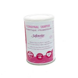 Florgynal Compact Tampon Normal 9 pieces