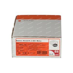Dansac Novalife 2 GX+-Skin Barrier 55mm Ref. 1855-10 5 pieces