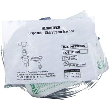 Henrotech Disposable Sidestream Tracheo Set 1 pièce