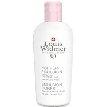 Louis Widmer Emulsion Corps Légèrement Parfumé 200 ml