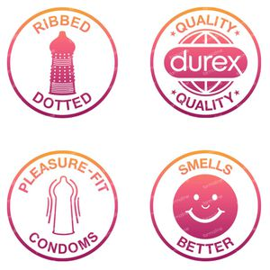 Durex Pleasure Me Condooms 12 stuks