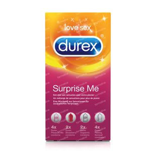 Durex Surprise Me Condoms 12 pieces