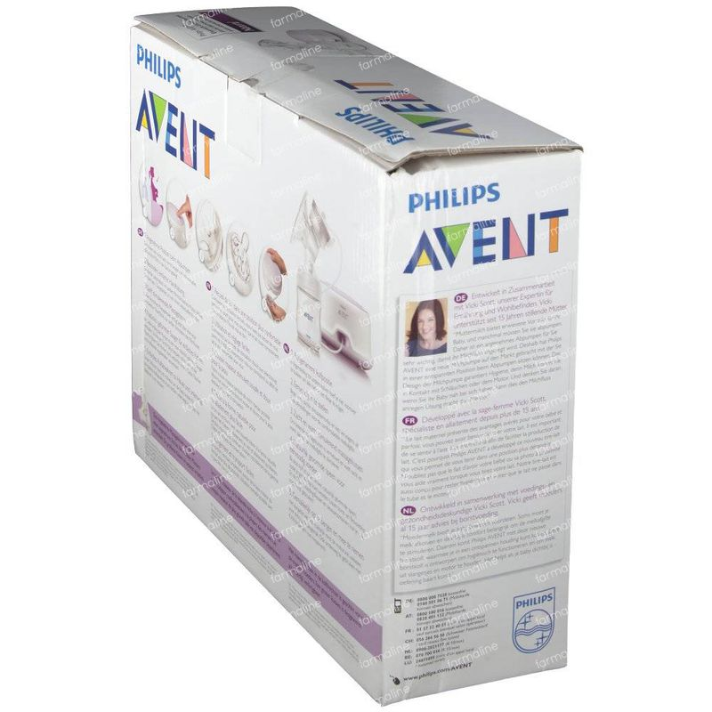 Philips Avent Comfort Single Electric Breast Pump 33201 1 -7398
