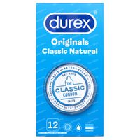 Image of Durex Classic Natural Condooms 12 st