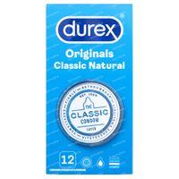 Durex Préservatifs Classic Natural 12 st