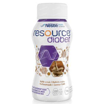 Resource Diabet koffie 4x200 ml