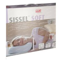 Sissel Soft Visco-Elastisch Hoofdkussen + Hoes Medium 1 st