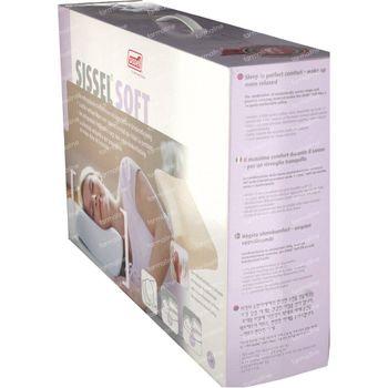 Sissel Soft Visco-Elastique Oreiller + Couverture Ivoire Medium 1 pièce