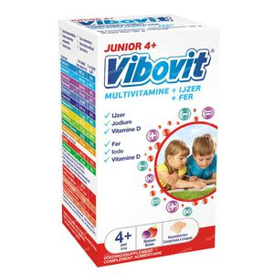 Vibovit Junior 4+ 30 chewing tablets