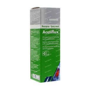 Acetiflux 3% Spray Nasal LSP 20 ml