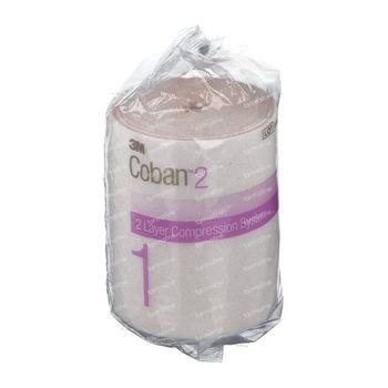 3M Coban 2 Bande De Comfort 10cm X 3,5m 18 Rouleaux 20014 1 st