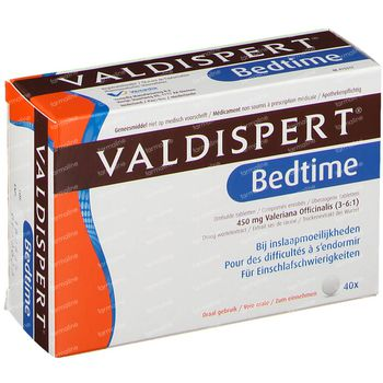 Valdispert Bedtime 40 comprimés
