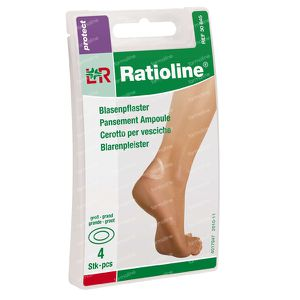 Ratioline Protect Blaarpleister Large 4 cerotti