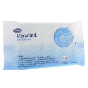 Menalind Damp Washcloths 8 Pieces
