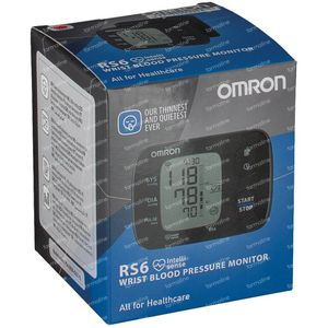Omron Blood Pressure Meter Digital Wrist RS6 HEM-6221-E 1 item