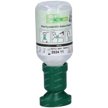 Covarmed Oogspoeling Plum Nacl 200 ml