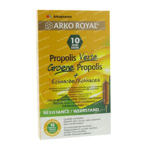 Phytofluide Propolis Groen 10 ml ampoules